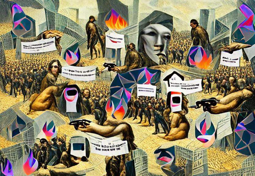 The Revolution Will Not Be Tokenised (GANimation via VQ/CLIP)
