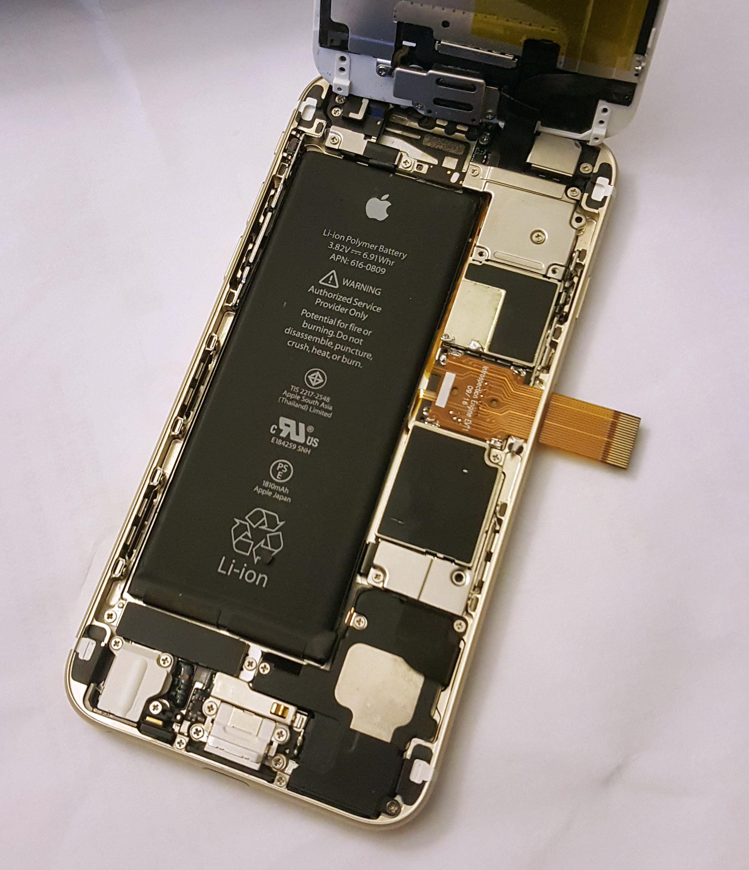 Against The Law Countering Lawful Abuses Of Digital Surveillance No Disassemble Short Circuit See More 3 Theguardian Com Figure 15 Tap Board As Installed On An Iphone6 Motherboard Upper Front View Lower Back