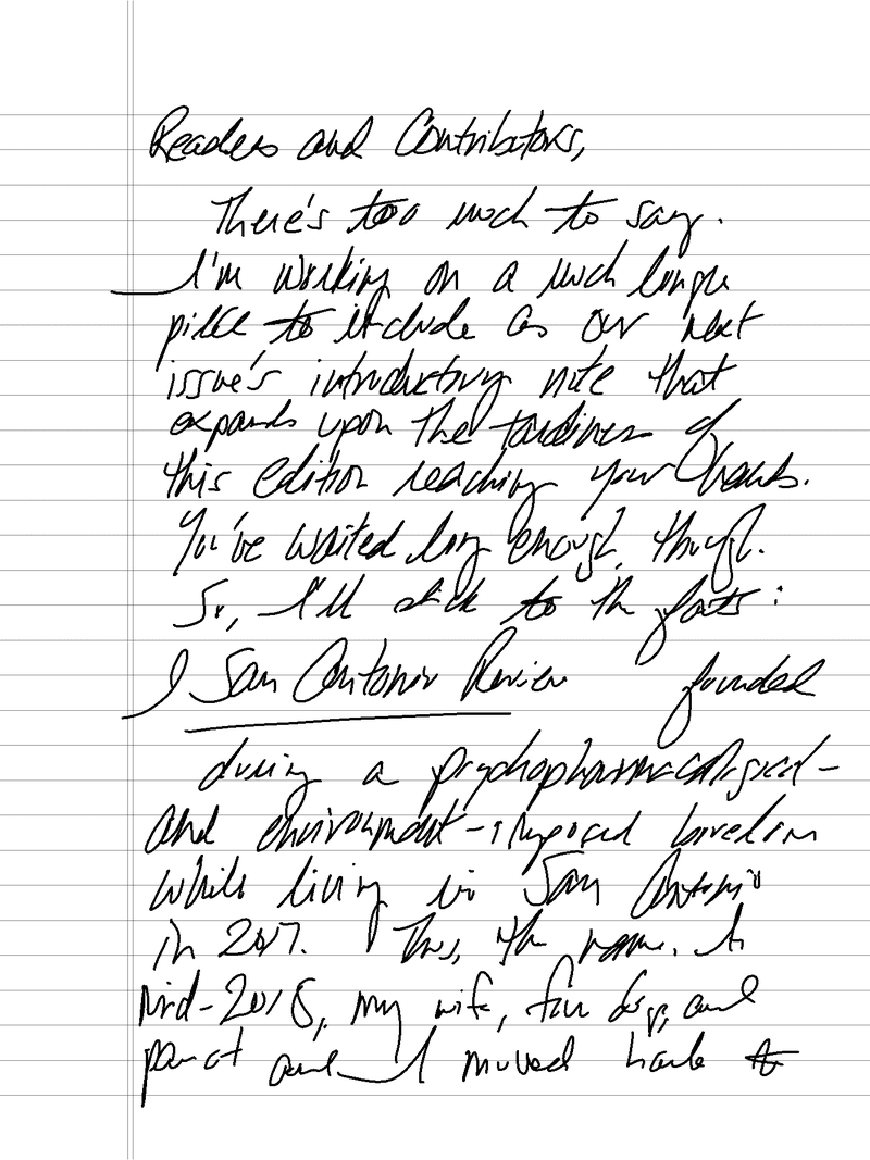 SAR III Publisher's Note (Typed Version)